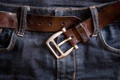 Boucle de ceinture défaite Images libres de droits