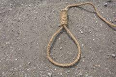 Boucle de corde Photographie stock libre de droits