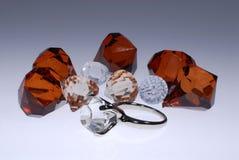 Boucle de diamant photo libre de droits