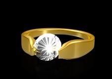 Boucle de diamant illustration de vecteur