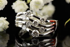 boucle de diamant Photographie stock