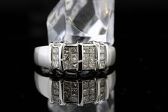 boucle de diamant Image libre de droits