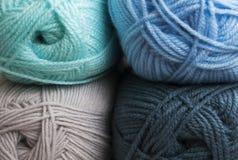 Boucle de fil de laine Photos libres de droits