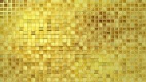 Boucle de fond d'or Photos libres de droits