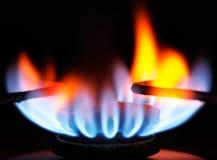 Boucle de gaz image libre de droits
