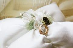 Boucle de mariage Photographie stock libre de droits