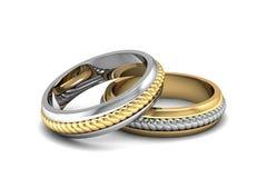 Boucle de mariage Photos stock