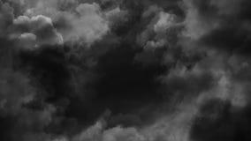 Boucle de nuages de tempête banque de vidéos