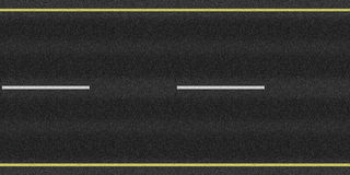 Boucle de texture de route goudronnée Images stock