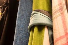 Boucle de tissu de conception Photo stock