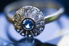 Boucle et diamant Photo libre de droits