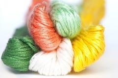Boucle multicolore d'amorçages Image libre de droits