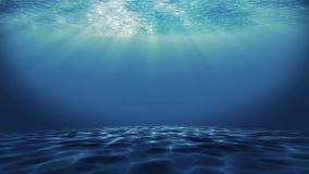 Boucle sans couture de fond sous-marin illustration de vecteur