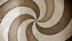 Boucle sans couture de rétro de film de vintage cercle d'hypnose illustration libre de droits