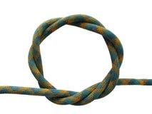 Boucle verte de corde Photos stock