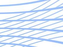 Boucles abstraites bleu-clair Image libre de droits