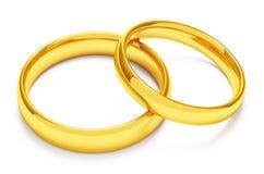 boucles d'or deux wedding photo libre de droits