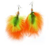 Boucles d'oreille de clavette Photo stock