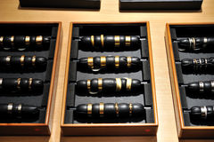 Boucles d'or pour l'événement de mariage Image libre de droits