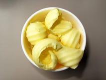 Boucles de beurre Images stock