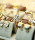Boucles de bijou Photographie stock