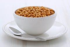 Boucles de céréale de blé entier Photo stock