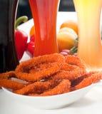 Boucles de Calamari Images libres de droits