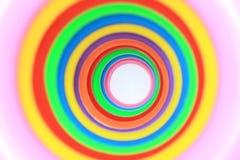 Boucles de couleur Photo stock