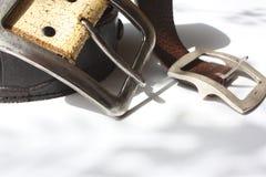 Boucles de courroie Photographie stock