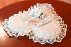 Boucles de mariage d'or Lizenzfreie Stockfotografie