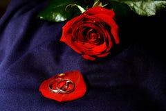 Boucles de mariage I Images libres de droits