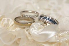 Boucles de Wed photographie stock libre de droits