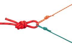 Boucles des cordes Photographie stock