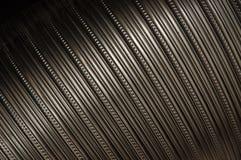 Boucles en acier de tube Photographie stock libre de droits