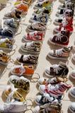 Boucles principales de chaussure de chéri Photo libre de droits