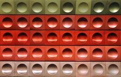 Boucles rouges Photo stock