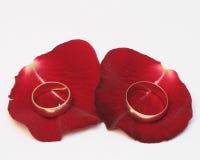 boucles wedding Photo libre de droits