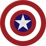 Bouclier de capitaine America Photo stock