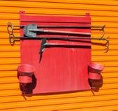 Bouclier de sapeur-pompier Photographie stock