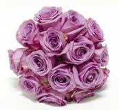 Boucquet de la rosa de la púrpura Foto de archivo libre de regalías
