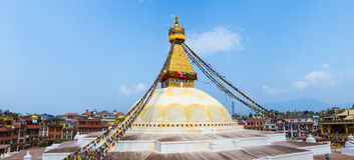 Boudanath Stupa Imagenes de archivo