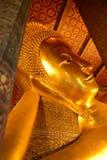 Bouddha étendu Wat Pho Photo libre de droits