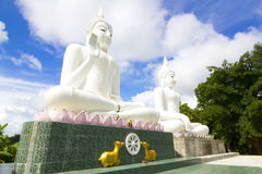 Bouddha blanc Photo stock