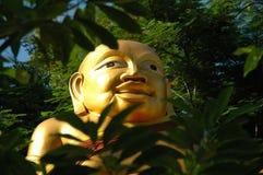 Or Bouddha Photographie stock libre de droits