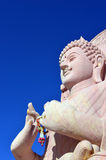Bouddha au temple thaïlandais Images libres de droits