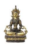 Bouddha avec des chemins de découpage Image libre de droits