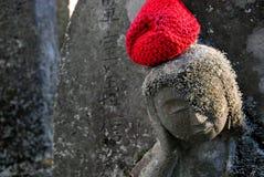 Bouddha avec le chapeau Image stock