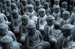 Bouddha beaucoup de petits buddhas Photo libre de droits
