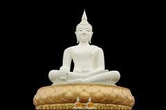Bouddha blanc Photo libre de droits