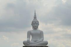 Bouddha blanc Photographie stock libre de droits